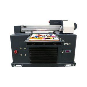 规格用途:卡片打印机板类型:平板打印机条件:新尺寸(长*宽*高):65 * 47 * 43 CM重量:62kg自动等级:自动电压:AC220 / 110V保修:1年打印尺寸:16.5x30 CM ,A4尺寸墨水类型:LED UV墨水产品名称:小型打印机A4尺寸数码印刷机UV平板打印机墨水:LED UV墨水打印高度:0-50mm墨水系统:连供系统墨水颜色:CMYKWW喷嘴数量:90 * 6 = 540打印软件:WINDOWS系统除了WIN 8电压:: AC220 / 110V总功率:30W