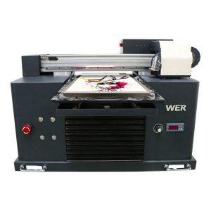 优质低价环保溶剂平板打印机价格便宜/数字平板T恤打印机