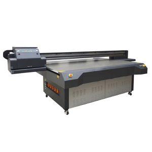 2.5米* 1.3米高清ricoh gen 5数字uv平板玻璃打印机