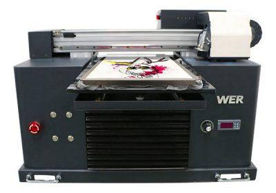 a3尺寸多色平板式T恤dtg打印机