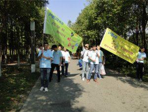 2014年秋季古村公园活动2