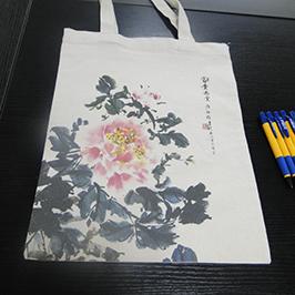 帆布袋印花样品采用A2 T恤打印机WER-D4880T