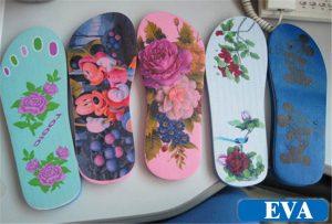 EVA-拖鞋印花样品从 -  WER-EP6090UV