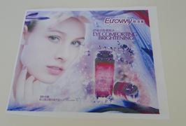标志布料横幅由1.6米(5英尺)eco溶剂打印机WER-ES160打印4