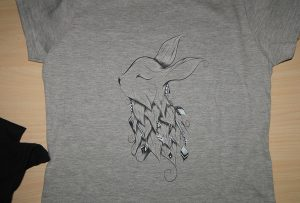 数码纺织印花样品3由A1数码纺织印花机WER-EP6090T
