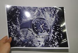 灯泡由3.2米(10英尺)eco溶剂打印机WER-ES3202打印2
