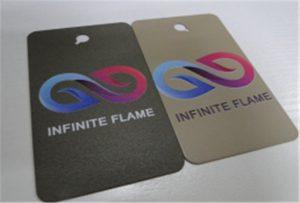 A1 UV印刷机WER-EP6090UV上的金属印刷样品