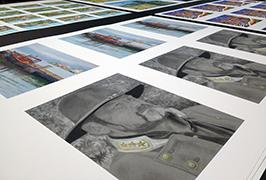 照片纸由1.8米(6英尺)eco溶剂打印机WER-ES1802打印2