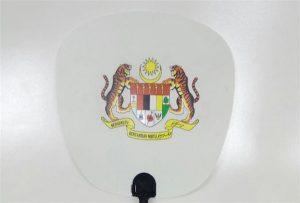 塑料风扇样品由A1尺寸uv打印机6090UV打印