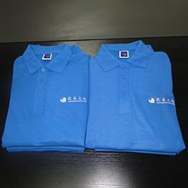 Polo衫由A3 T恤打印机WER-E2000T定制印刷样品