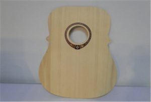 A2尺寸uv打印机WER-DD4290UV的木吉他样品